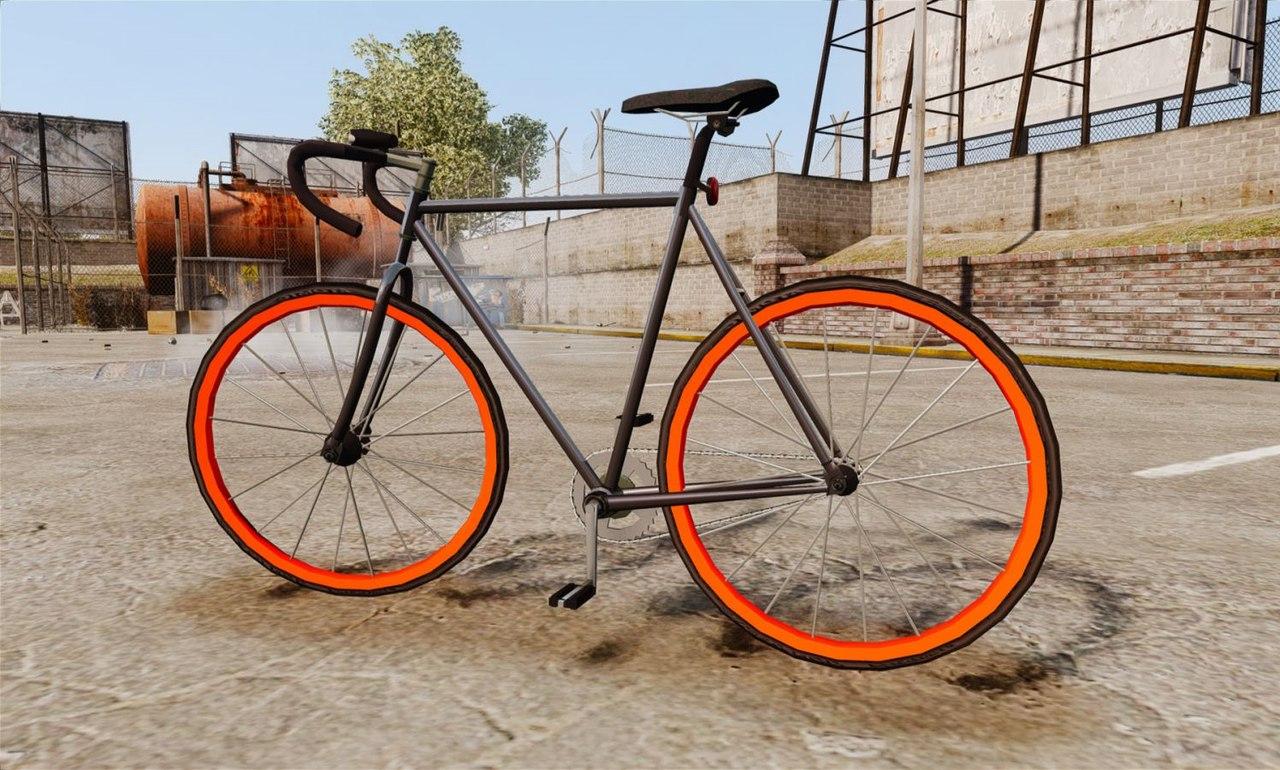 Велосипед гта 5 как ездить на велосипеде