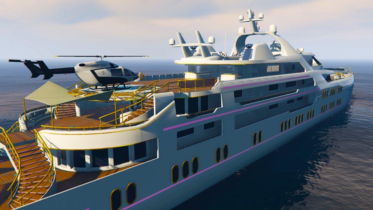 на яхте онлайн