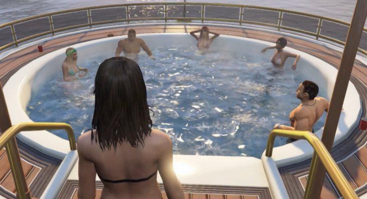 На яхте онлайн фото 150-145