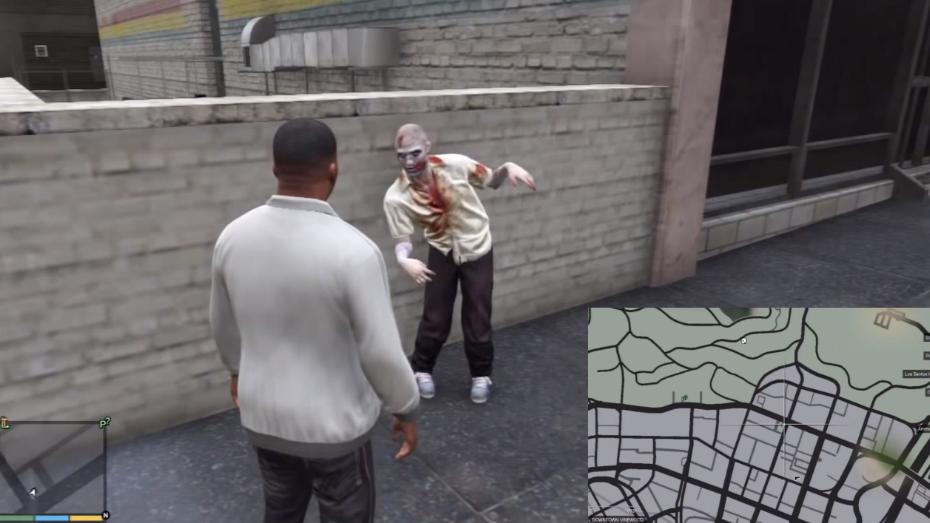 скачать игру гта 5 зомби через торрент