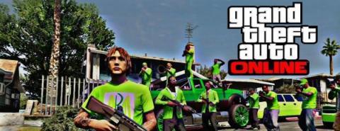 Банда GTA Online в сборе