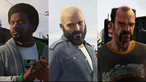 Стрижки в GTA 5