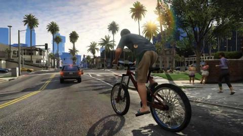 Велосипед в ГТА 5